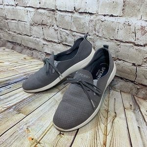 Sperry Top Sider Womens Gray Suede Slip Ons 8.5